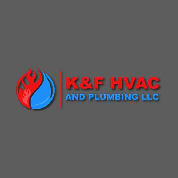 K and F  Hvac Logo Design